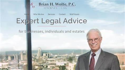 Brian H. Wolfe, P.C. Attorney At Law   303 E 16th St Ste 103, Vancouver, WA, 98663   +1 (360) 737-1487