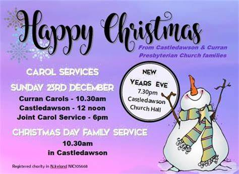 Castledawson & Curran Presbyterian Church   Main Street Castledawson, Magherafelt BT45 8AB   +44 28 7946 8253