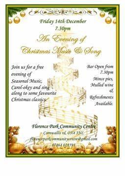 Florence Park Community Centre   113 Cornwallis Road, Oxford OX4 3NH   +44 7864 028591