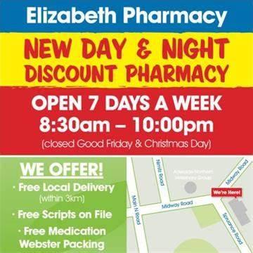 Elizabeth Pharmacy Day & Night PharmaSave | 5/55 Spruance Road, Elizabeth East, South Australia 5112 | +61 8 8255 2409