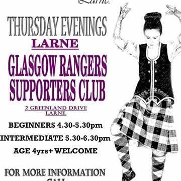 Kathryn Stewart. School Of Highland Dance | Glasgow Rangers Supporters Club, Larne B T40 | +44 7901 229500