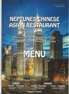 Neptunes Asian Chinese Restaurant | Port Kembla Leagues Club, 4 Wentworth Street, Port Kembla, New South Wales 2505 | +61 478 796 252