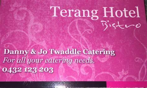 Danny & Jo Twaddle Catering at The Terang Hotel | 40 High Street, Terang, Victoria 3264 | +61 432 123 203