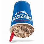 Double Fudge Cookie Dough Blizzard