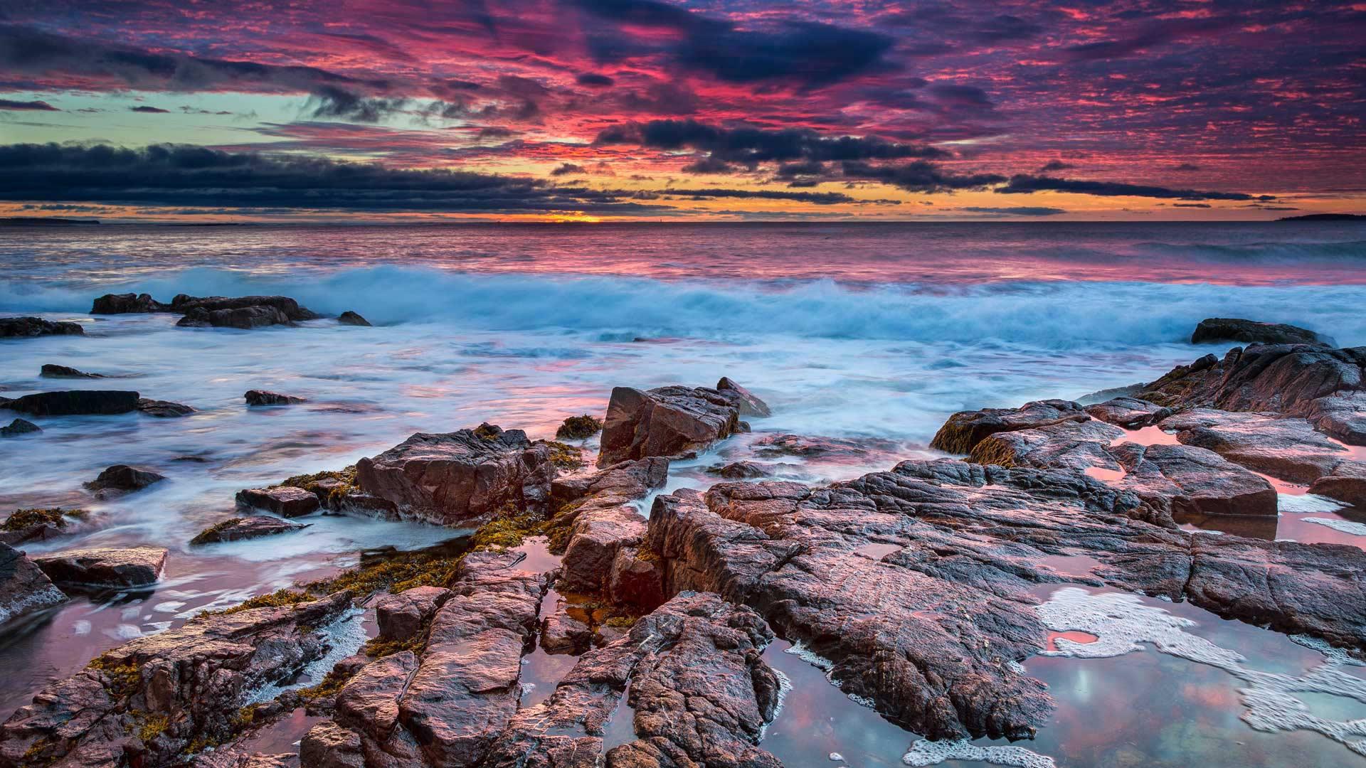 Parc national d'Acadia dans le Maine, États-Unis (© emptyclouds/Getty Images)(Bing France)