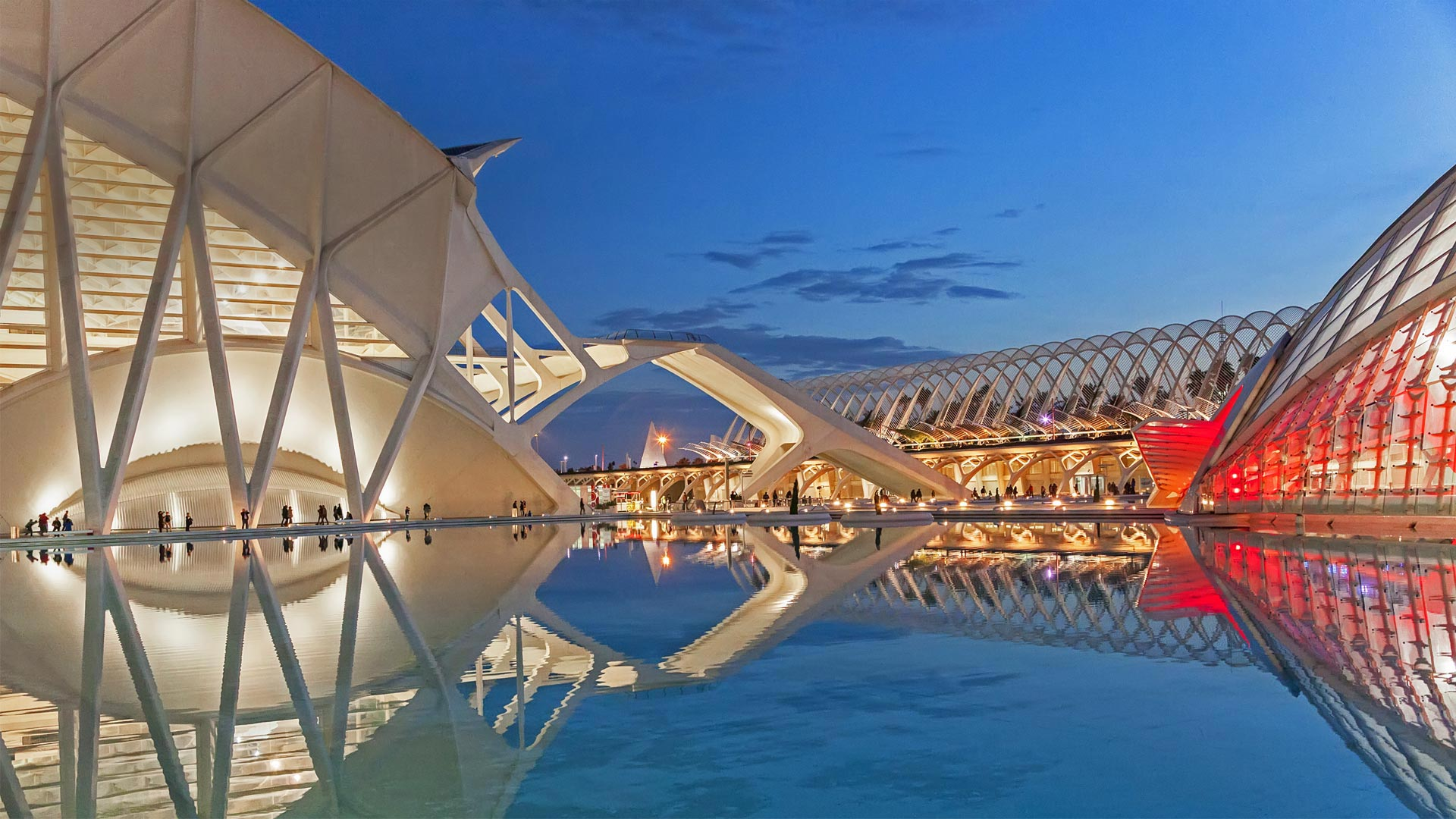 The City of Arts and Sciences in Valencia, Spain (© MAIKA 777/Getty Images)(Bing United States)