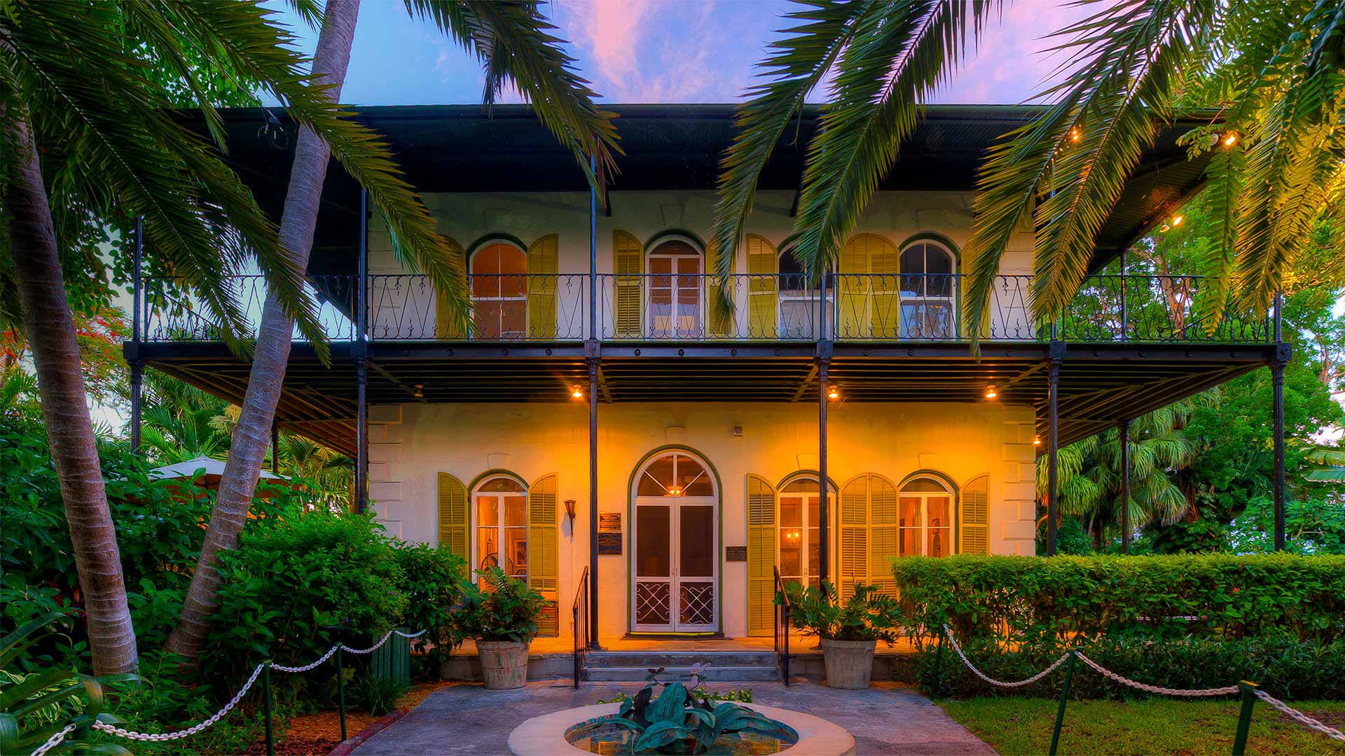 The Ernest Hemingway Home and Museum in Key West, for Hemingway Days (© Werner Bertsch/eStock Photo)(Bing United States)