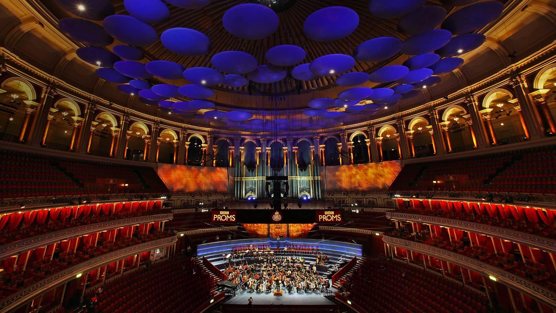 「ロイヤル・アルバート・ホール」イギリス,ロンドン (© Oli Scarff/Getty Images)