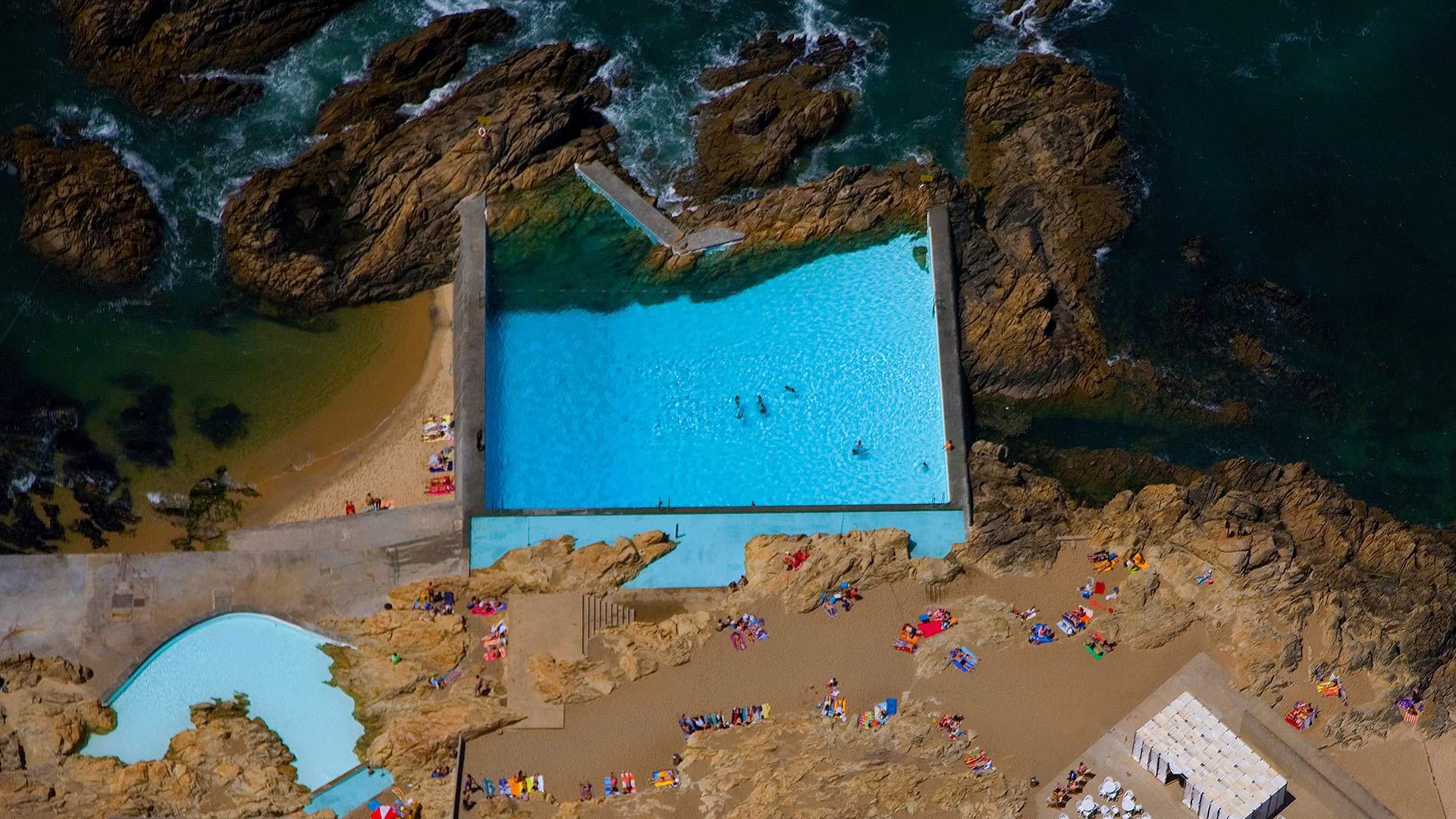 Tidal pools of Leça da Palmeira, Portugal (© Fernando Guerra/age fotostock)(Bing United States)