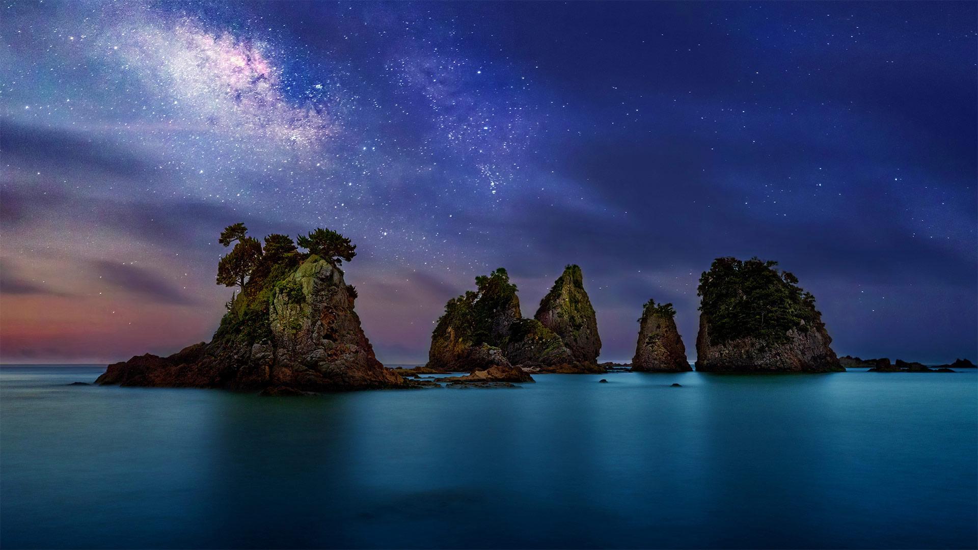 「蓑掛岩」静岡県, 南伊豆町 (© Krzysztof Baranowski/Getty Images)