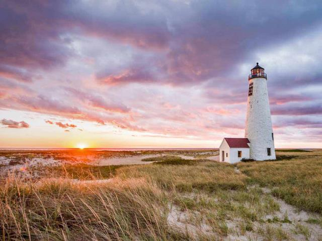 Great Point Light on Nantucket Island, Massachusetts (© Cate Brown/Cavan Images)