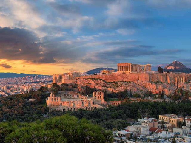 The Acropolis of Athens, Greece (© Lucky-photographer/Shutterstock)