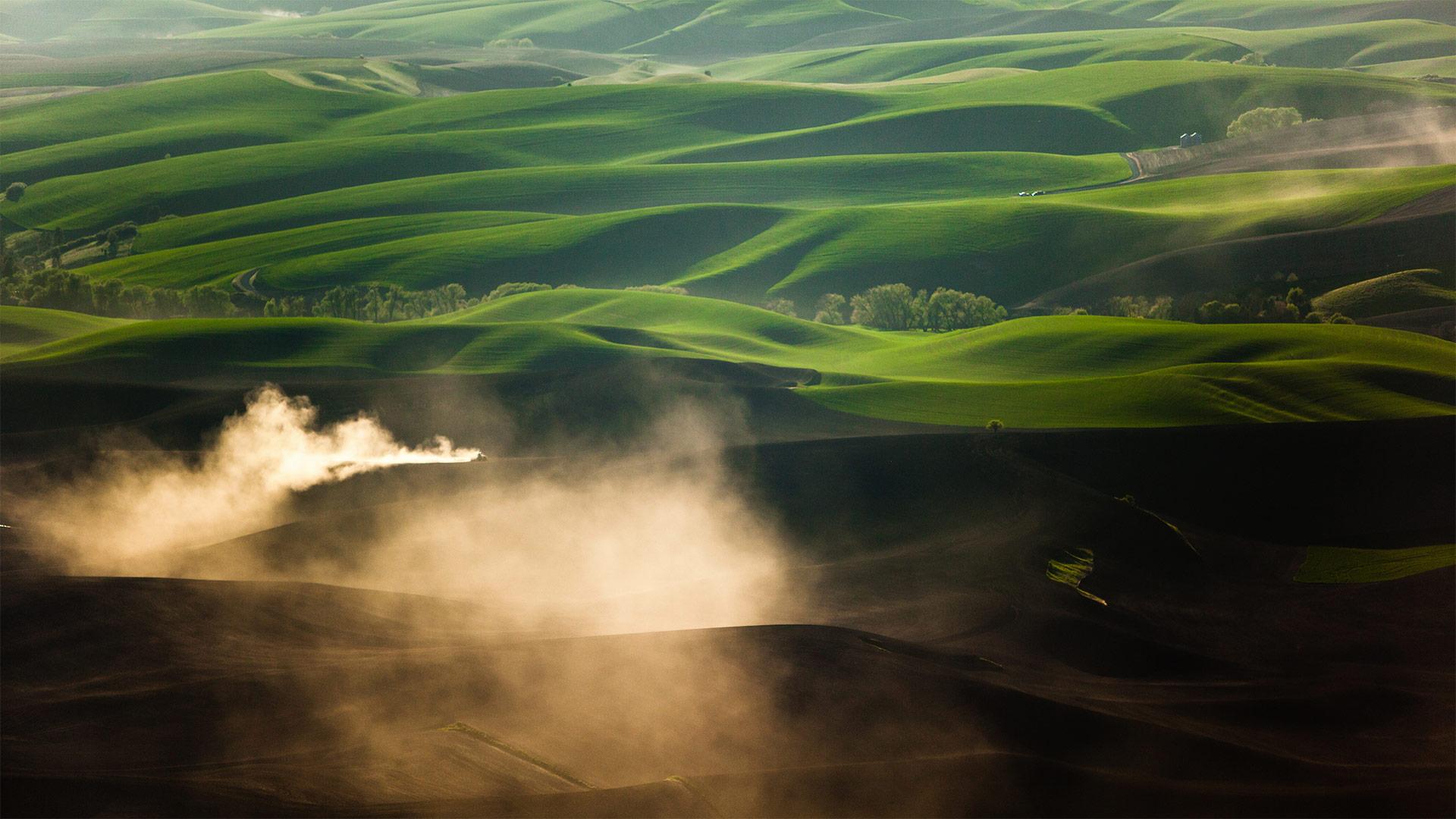 「パルース丘陵」米国ワシントン州, プルマン (© Ben Herndon/Tandem Stills + Motion)
