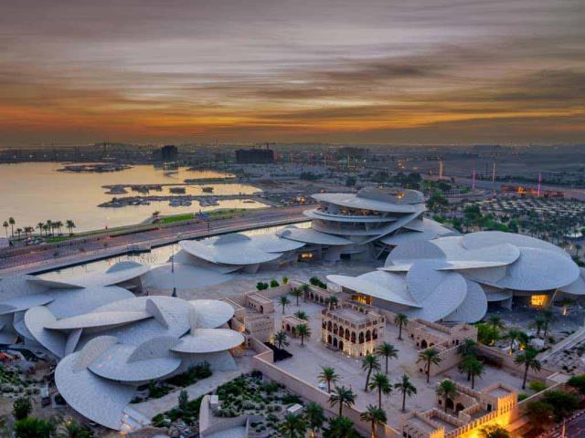 National Museum of Qatar in Doha, Qatar (© Hasan Zaidi/Shutterstock)