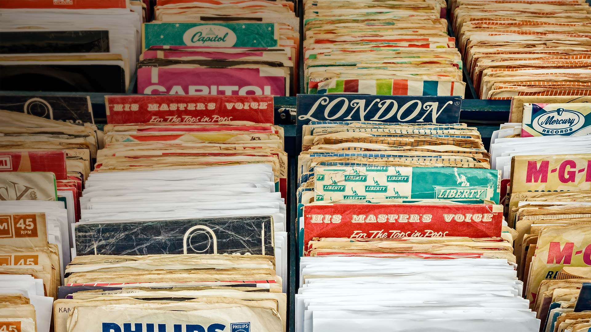 Vinyl records in Rosmalen, Netherlands (© DutchScenery/Shutterstock)(Bing United States)