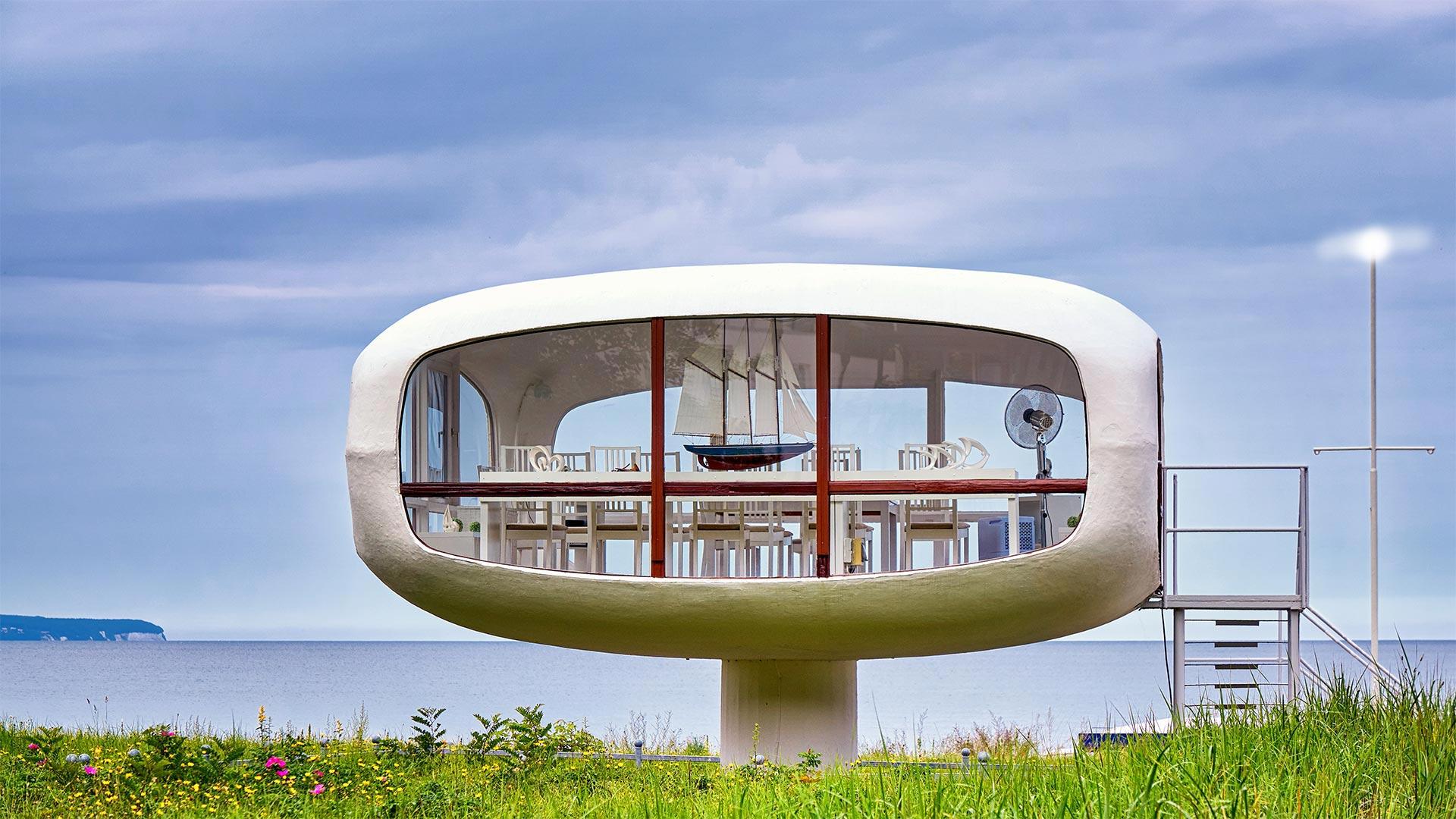 Former lifeguard station on the island of Rügen, Mecklenburg-Western Pomerania, Germany (© DR pics/Shutterstock)(Bing United States)
