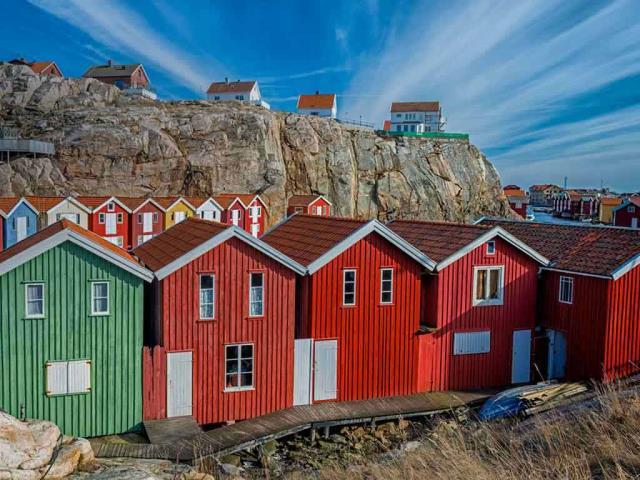 Smögen, Sweden (© Martin Wahlborg/Getty Images Plus)