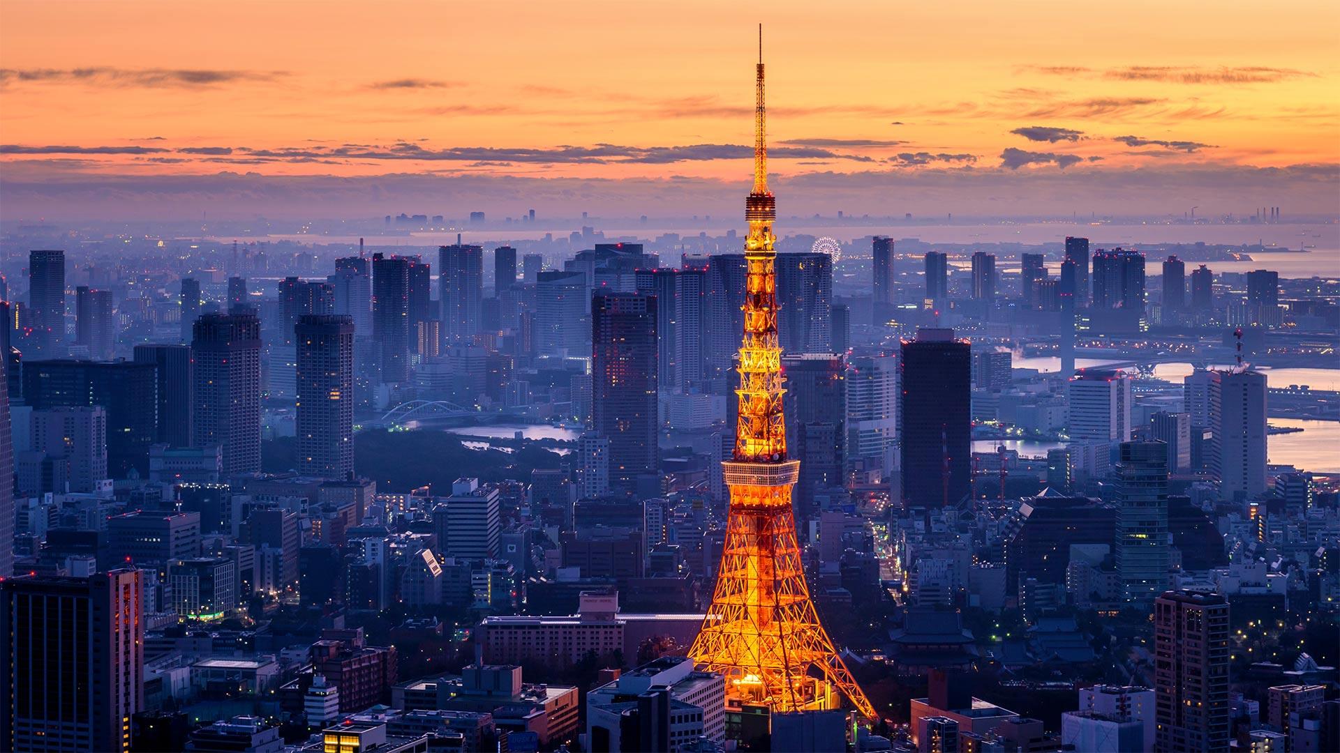 「東京タワー」東京都, 港区 (© Yukinori Hasumi/Getty Images)