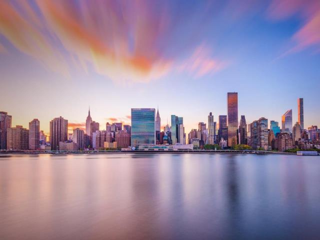 New York City skyline with United Nations headquarters (© Sean Pavone/Alamy)