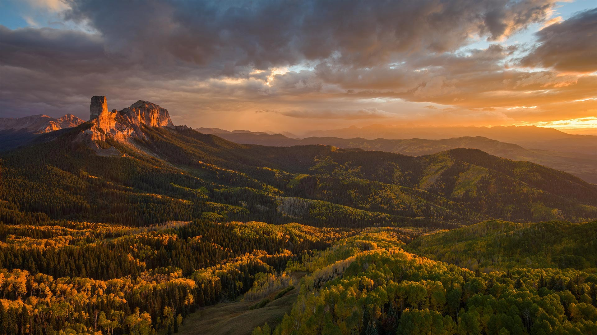 Chimney Rock and Uncompahgre National Forest, Colorado (© Cory Marshall/Tandem Stills + Motion)(Bing United States)