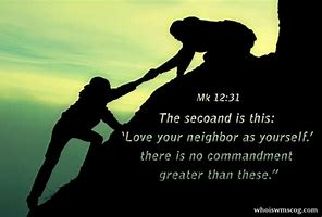 Image result for Love yourn neighbor as yourself