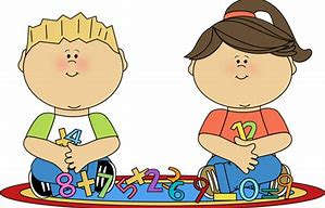 Image result for children learning math clipart