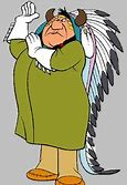 Image result for cartoon of big chief
