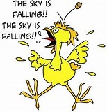 Image result for the sky is falling