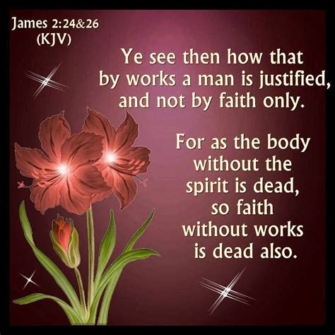 Image result for faith without works is dead bible