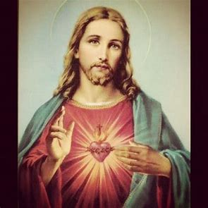 Image result for Catholic Heart of Jesus