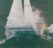 Image result for Love Machine Race sailboat Wave