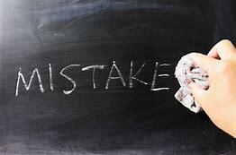 Image result for mistake