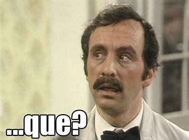 Image result for fawlty towers manuel que images