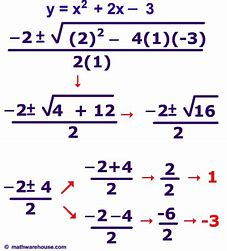 Image result for images quadratic equations