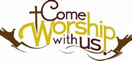 Image result for come worship with us clip art