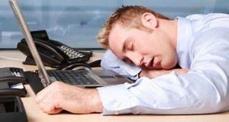 Image result for Man Slumped Over Desk