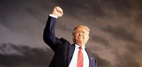 Image result for Images Donald Trump Triumphant. Size: 223 x 106. Source: www.wnd.com