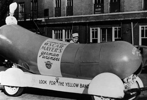 Image result for 1936 - The first Oscar Meyer Wienermobile