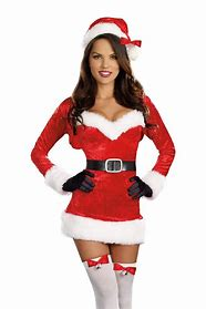 Image result for images sexy girl dressed up as santa claus