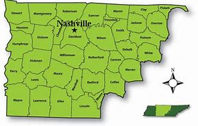 Image result for green middle tn map