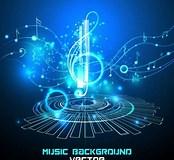 Image result for Futuristic Music. Size: 174 x 160. Source: freedesignfile.com