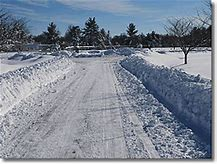 Image result for plowing snow driveway