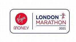 Image result for London Marathon logo. Size: 242 x 133. Source: www.stjohnshospice.org.uk