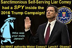 Image result for fbi spied on trump campaign