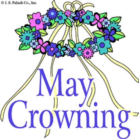 Image result for may procession clip art