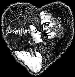 Image result for frankenstein and his bride