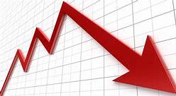 Image result for statistics downward trend