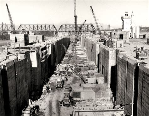 Image result for Construction began on the St. Lawrence Seaway.