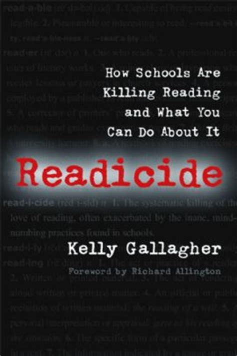 Image result for readicide by kelly gallagher