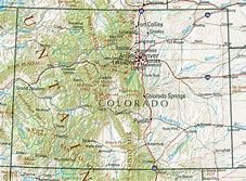 Image result for Colorado Road Map Detailed